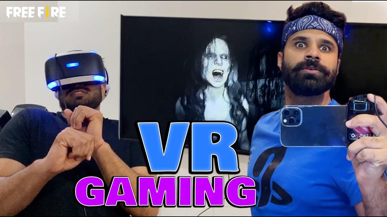 My first VR Gaming experience! | Rahim Pardesi | Pardesi Squad