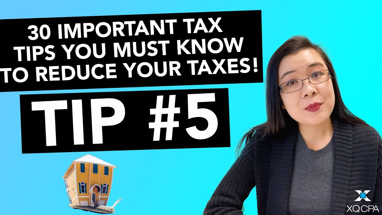 30 Important Tax Tips You Must Know to Reduce Your Taxes! - #5 Home Office Deductions