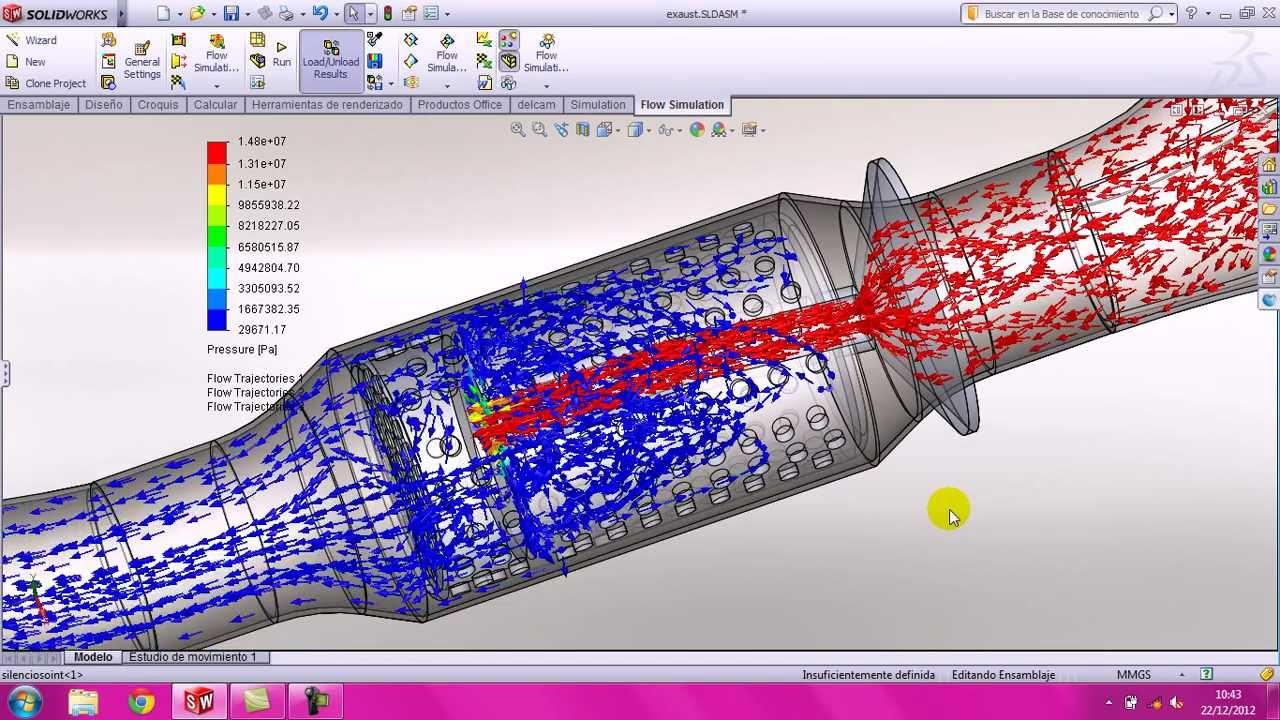Gas Flow Simulation Software For Suppressor Design