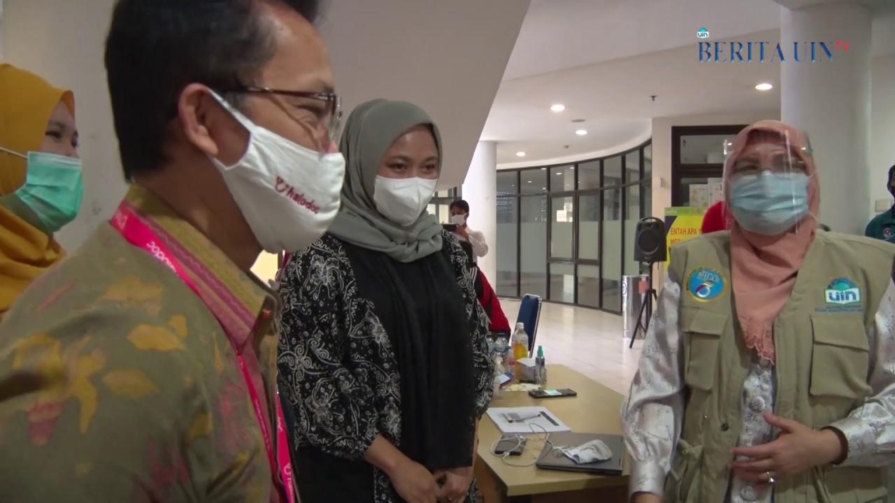 ASN di UIN Jakarta Memeriksakan Diri dengan Rapid Test