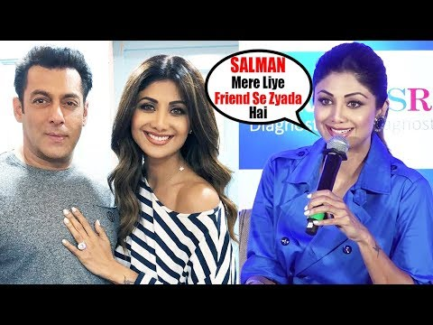 Shilpa Shetty's BEST REACTION On FRIENDSHIP With Salman Khan For Last 23 Years