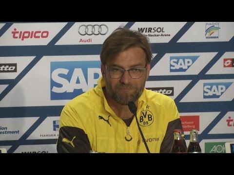 Pressekonferenz: Jürgen Klopp nach dem Spiel bei der TSG Hoffenheim (1:1) | BVB total!