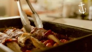Baked Whiting In Prosciutto Jackets - Bondi Harvest Video Recipe