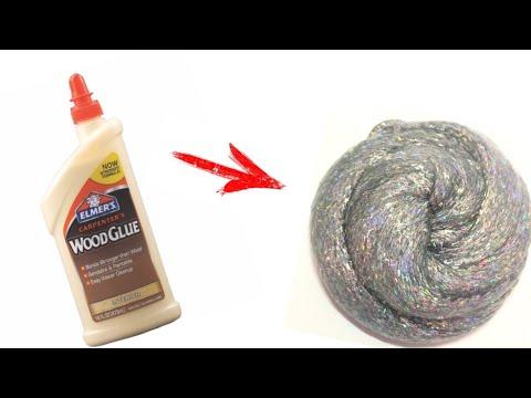 DIY Wood Glue Slime!!!!