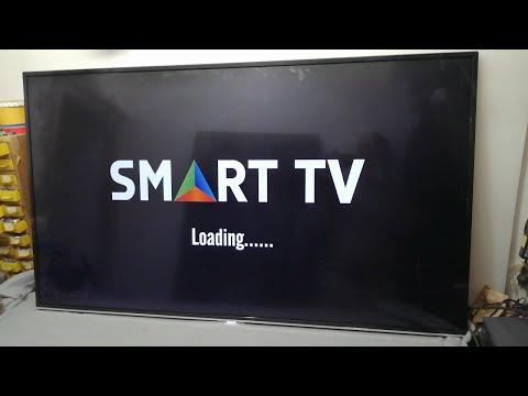 Comment Réparer TV LED Problème De Rétro-éclairage  TV BRANDT SMART ANDROID BAC55U6S NO IMAGE