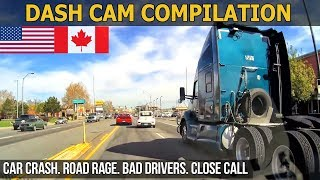 Car Crashes in America (USA & CANADA) bad drivers, Road Rage 2017 # 9