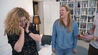 Helt plötsligt kan Anja Pärson inte lyfta foten - Brynolf & Ljung (TV4)