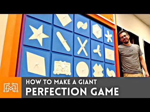 How to Make a Giant Perfection Game