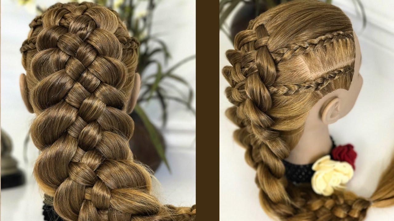 Stream trenza de 5 cabos con trenzas africanas peinados - Trenzas peinados faciles ...