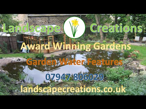 Garden Water Features | Garden Ponds | Water Feature Garden Design | Outdoor Water Fountains