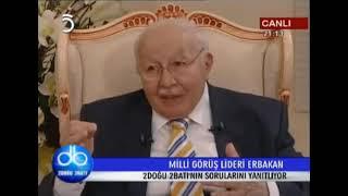 Necmettin Erbakan - Tv5 2 Doğu 2 Batı - 27.03.2009