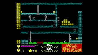 Max Pickles Part III - The Price of Power (2018) Walkthrough, ZX Spectrum