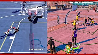 DUNKED ON HIM AND BROKE HIS KNEES | 2k17 Exterminator KILLING PARK RATS | NBA 2k16 MyPark | JuiceMan