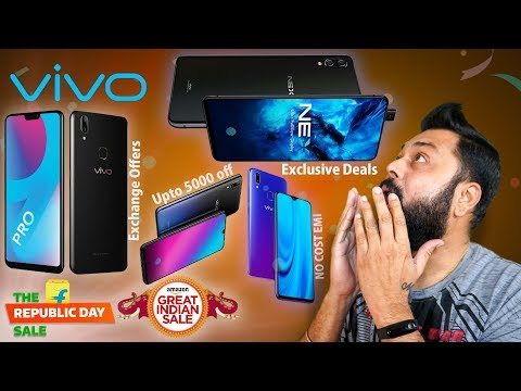 Crazy Vivo Smartphones Deals & Offers During Amazon & Flipkart Republic Sale