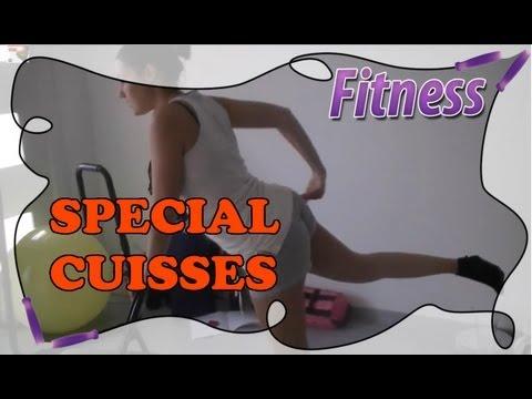 fitness routine la maison sp cial cuisses hanches. Black Bedroom Furniture Sets. Home Design Ideas
