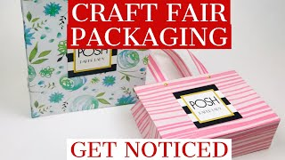 CRAFT FAIR IDEA - A TUTORIAL.   BEAUTIFUL SMALL  ALL OCCASION BAGS - GET NOTICED