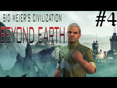 Lets Play Civilization Beyond Earth As Brasilia Part 4-(It's Starting)