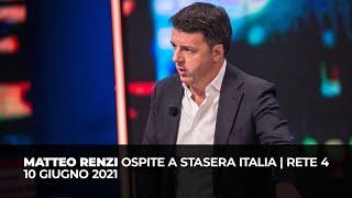 Matteo Renzi ospite a Stasera Italia | 10 giugno 2021