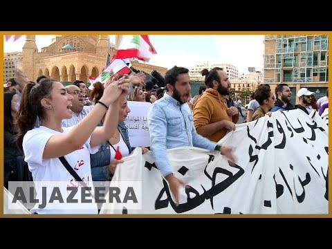 🇱🇧Protests mark Lebanon's 75th independence day from France l Al Jazeera English