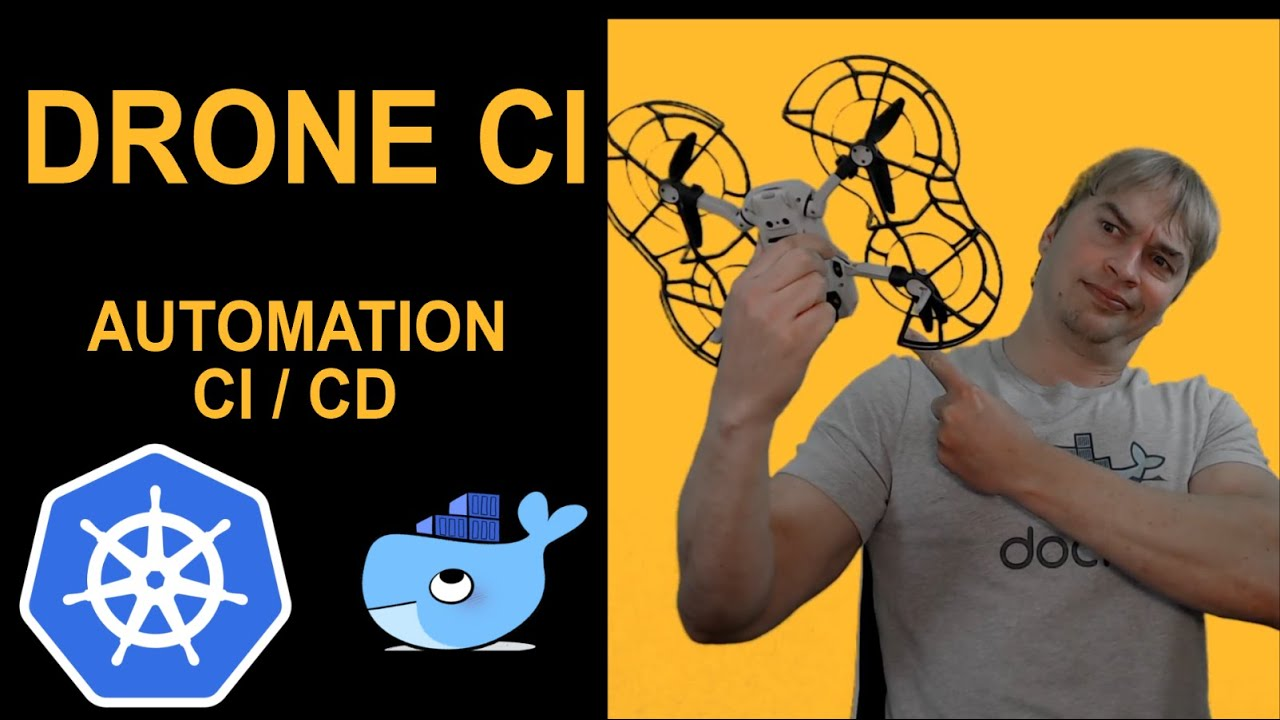 Introduction to Drone CI: Kubernetes DevOps CI/CD