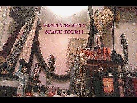 Vanity/Beauty Space Tour - BeautyVlog