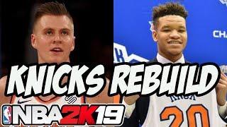 NBA 2K19 MyLeague: Rebuilding The New York Knicks