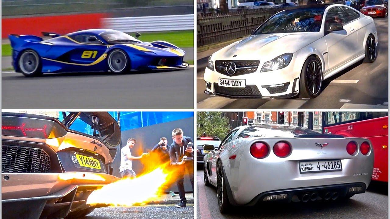 Supercar Sounds 2016 [Part 2] - FXXK, Zonda, Aventadors, GTR's & More!