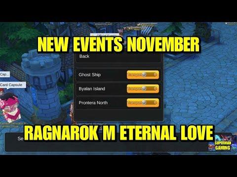Ragnarok M Eternal Love What is Events in November letöltés
