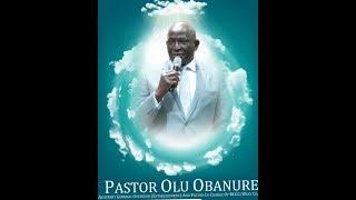 PASTOR OLUWOLE OBANURE'S FUNERAL SERVICE