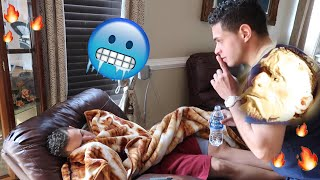 PRANKING MY BROTHER FOR 24 HOURS!