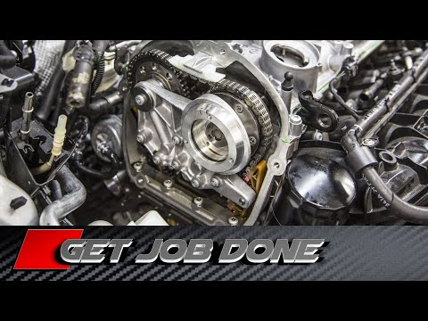 How To Replace TIMING CHAIN KIT on VW Audi EA888 2.0 tfsi tsi Video Tutorial