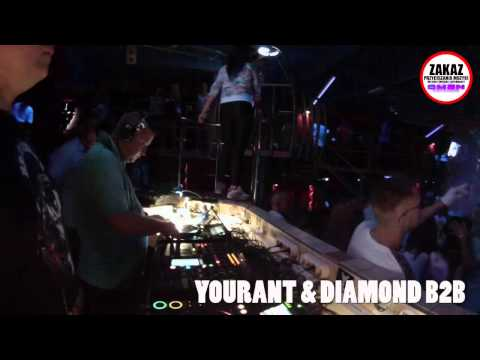 VIDEO MIX - YOURANT - DIAMOND - B2B @ OMEN CLUB - VI NOC ZAGŁADY 31.07.2015