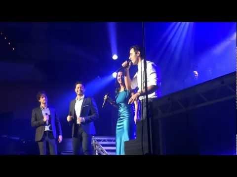 Bohemian Rhapsody - Ramin Karimloo, Stephen Rahman-Hughes, Lee Mead and Ashleigh Gray. Glasgow 2012