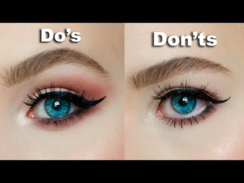 DO's & DON'Ts for Hooded, Downturned eyes 鈹侻ARIA ALEXANDRA