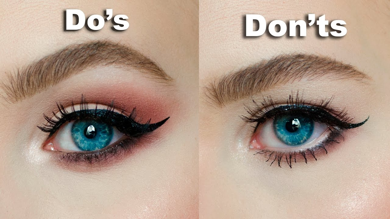 "Do's & Don'ts For Hooded, Downturned Eyes ""�maria Alexandra"