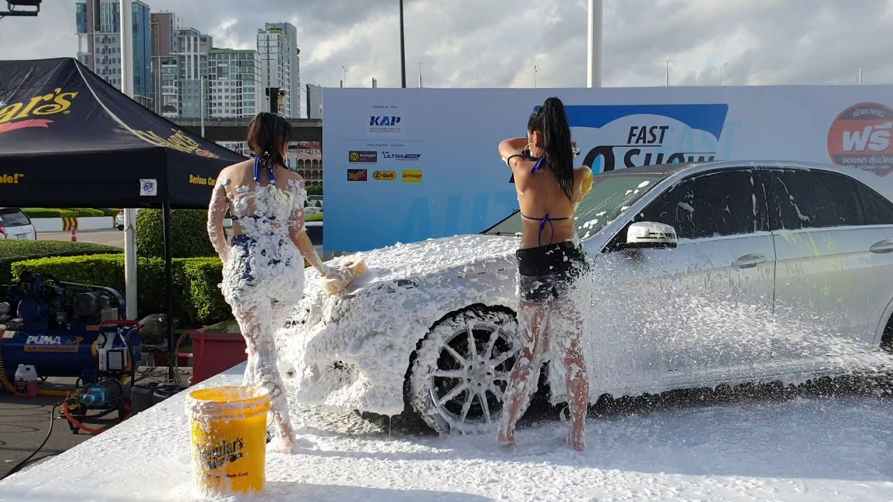 Car wash ffm video sluts having hardcore