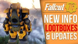 """Fallout 76 News- Emote """"Scam"""", Updates and Patch Notes Later, Lootbox Updates"""