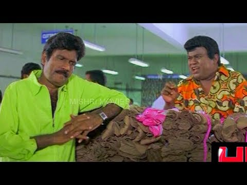Goundamani Senthil Super Comedy | Goundamani Senthil Comedy | Yes Madam Full Comedy | Prabhu