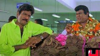 Goundamani Senthil Super Comedy | Goundamani Senthil Comedy | Yes Madam Full Comedy | Prabhu