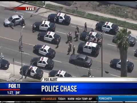 High speed chase los angeles yesterday