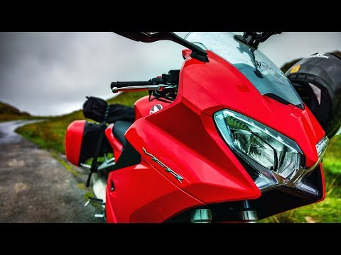 Bike Review in the Lake District   2018 Honda VFR800F   Ep2
