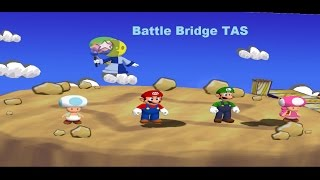Mario Party 6 - Battle Bridge [TAS]