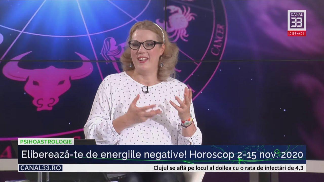Eliberează-te rapid de energiile negative! Horoscop 2-15 nov. 2020 cu Camelia Pătrășcanu