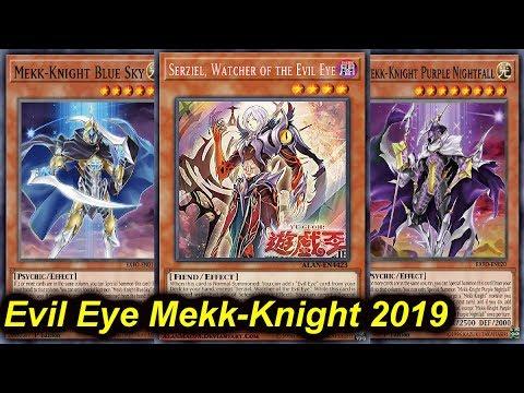 【YGOPRO】EVIL EYE MEKK-KNIGHT DECK 2019