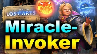 MIRACLE- INVOKER - NEW Hero Persona! - IMMORTAL Ranked MMR Dota 2