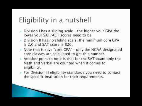 Softball Recruiting - NCAA Eligibility rules