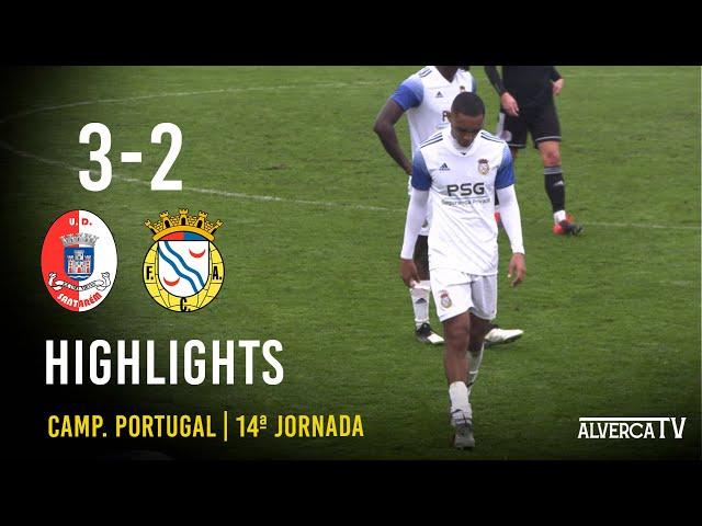 UD Santarém 3-2 FC Alverca - Highlights
