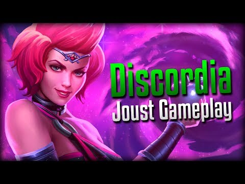 Smite: THE BOUNCE!- Discordia Joust Gameplay