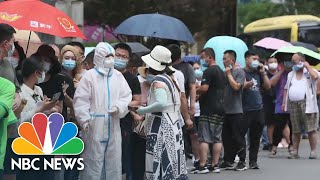China Reports COVID-19 Outbreak At Wholesale Market In Beijing | NBC News NOW