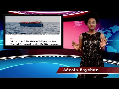 Hundreds Of Africans Die In The Mediterranean